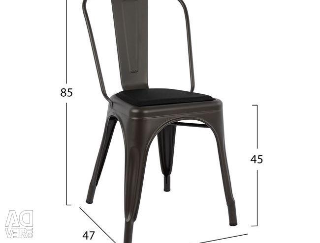 MELITA RUSTY CAMERĂ ȘI SEAT PU NEGRU HM8062.04