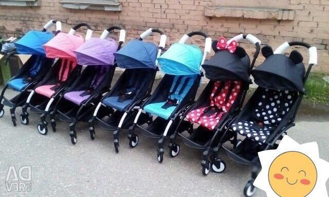 Strollers Baby time new in boxes. For the aircraft.