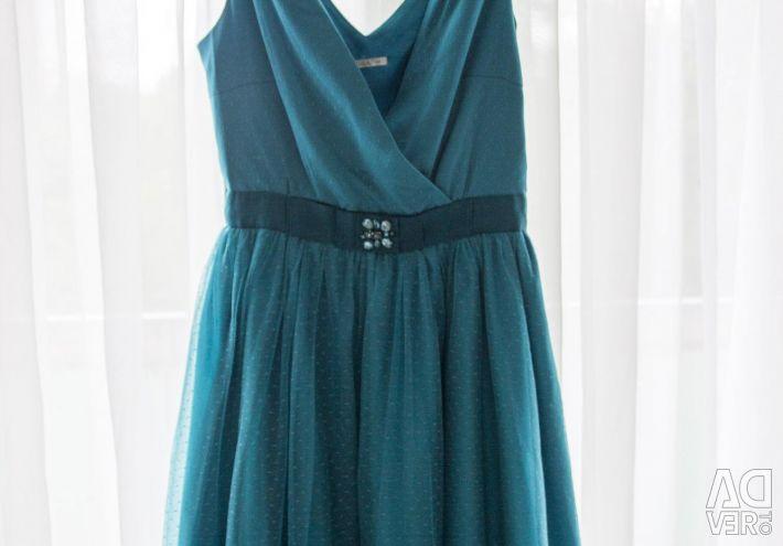 Платье, zarina голубое 42-44