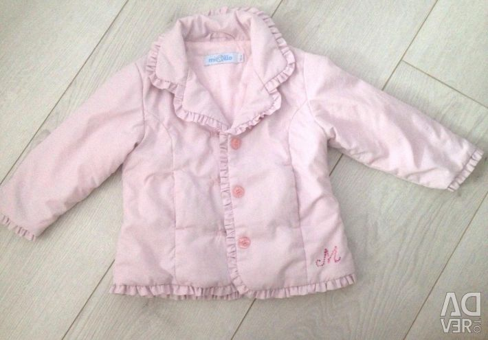 Warm jacket for 9-12 months. Mixtillo