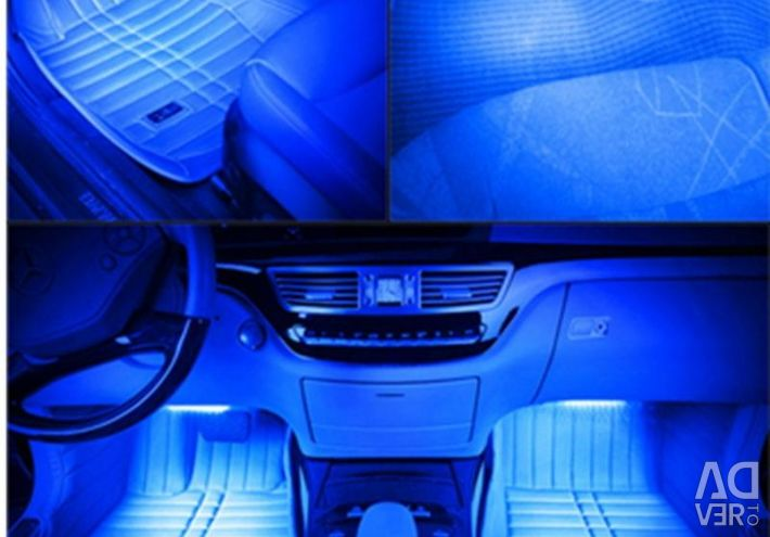 Interior lighting 12LED50 - blue high-brightness