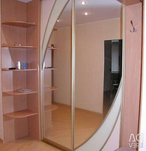 Production of sliding wardrobes to order