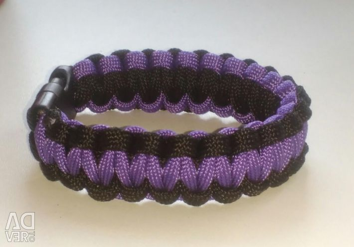 New two-sided survival bracelet
