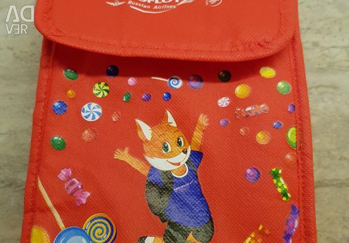 Aeroflot. Punga pentru copii.