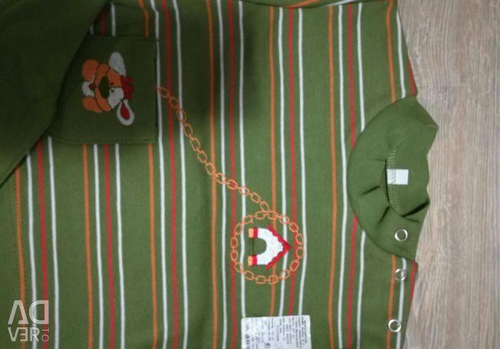 Bir bebek için yeni kostüm 68r