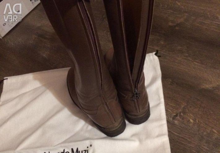 Nando Muzi Leather Boots