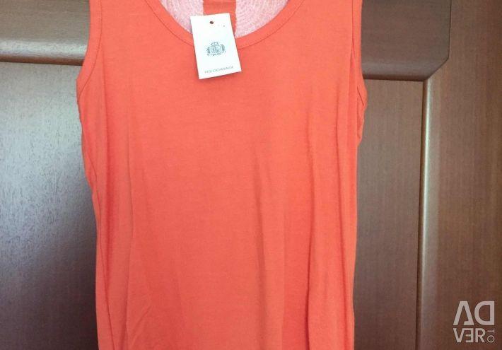 Φόρεμα νέο Angel με πούλιες μεγέθους 46 πορτοκαλί