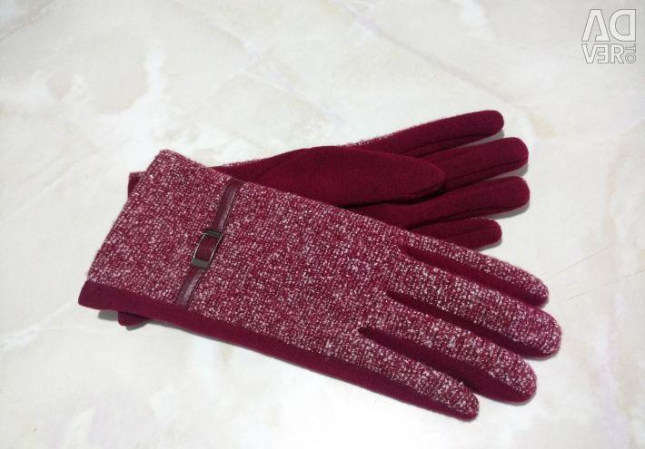 Новые Перчатки текстиль жен