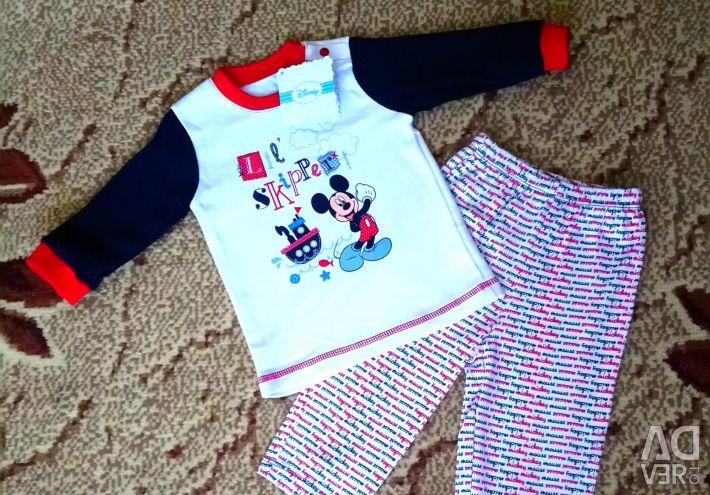 Πυτζάμες Disney 3-6 μήνες.
