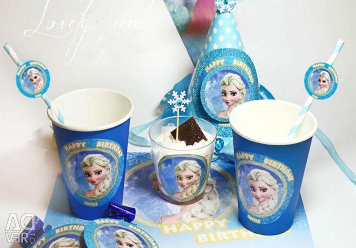 💙 Dondurulmuş kokteyl tüpleri 8 adet