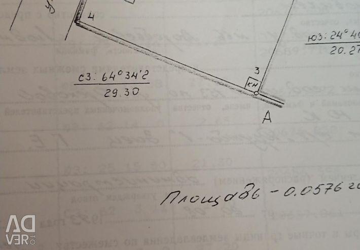 Ділянка, 6 сот., Поселення (ІЖС)