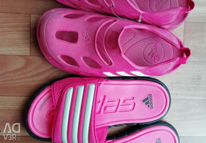 New branded shoes Adidas.