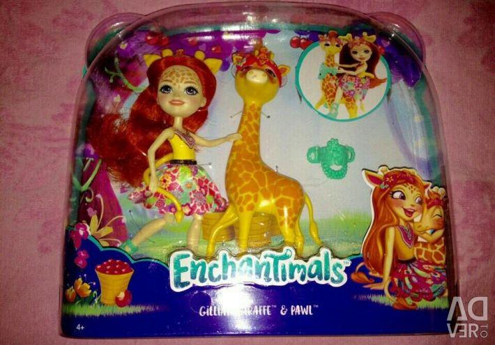 Dolar Giraffe, Medusa, Pește Clown, Enchantimals