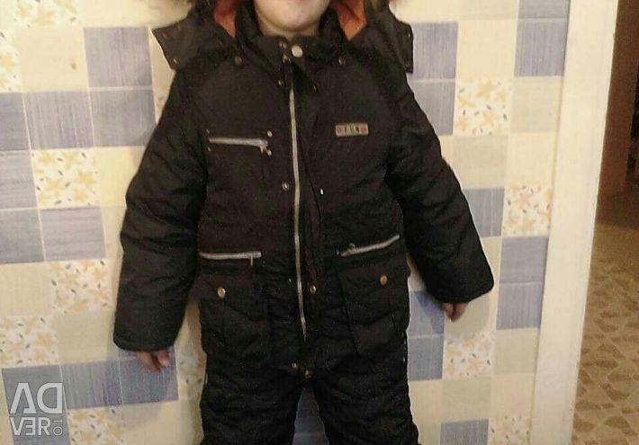 Winter on boy