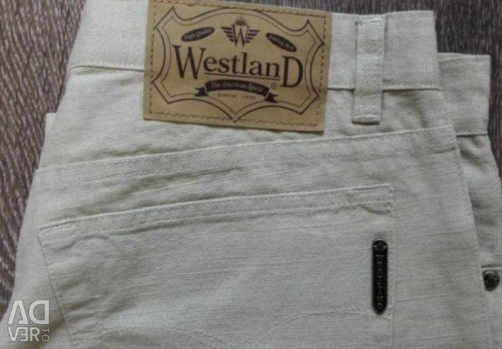 Παντελόνια τζιν Len Westland ferre TopSekret