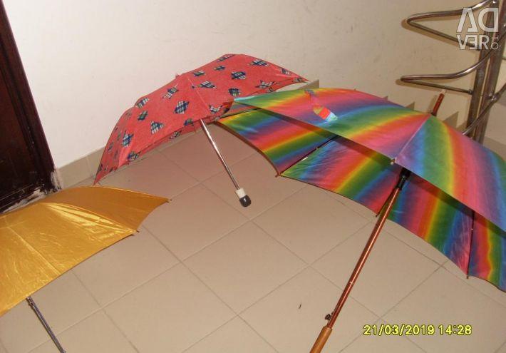 Umbrellas different 5 pcs.