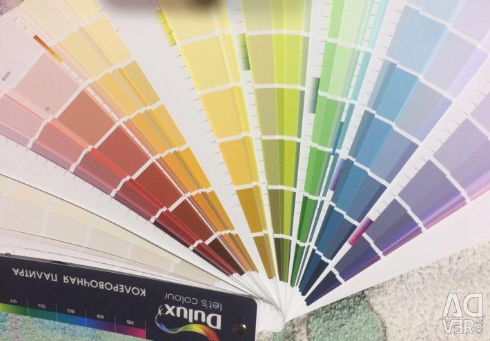 Coloring palette