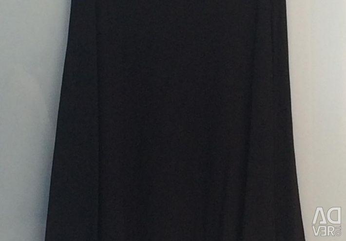 Fusta tricotata neagra 40-42