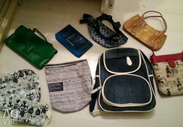 Дуже багато різних сумок