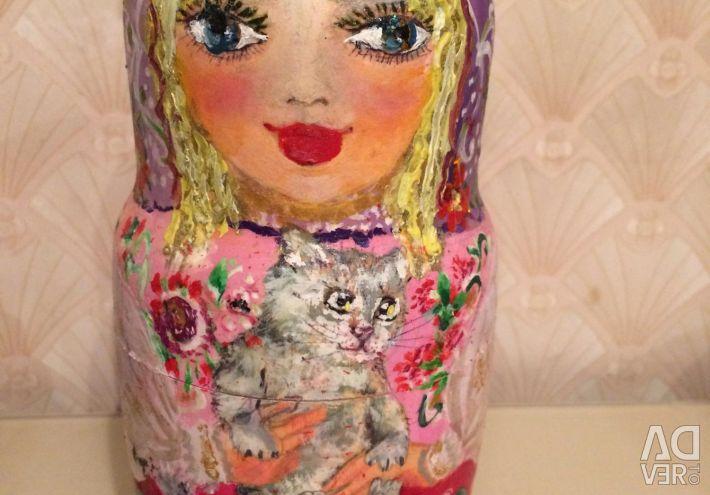 Matryoshka hand painted
