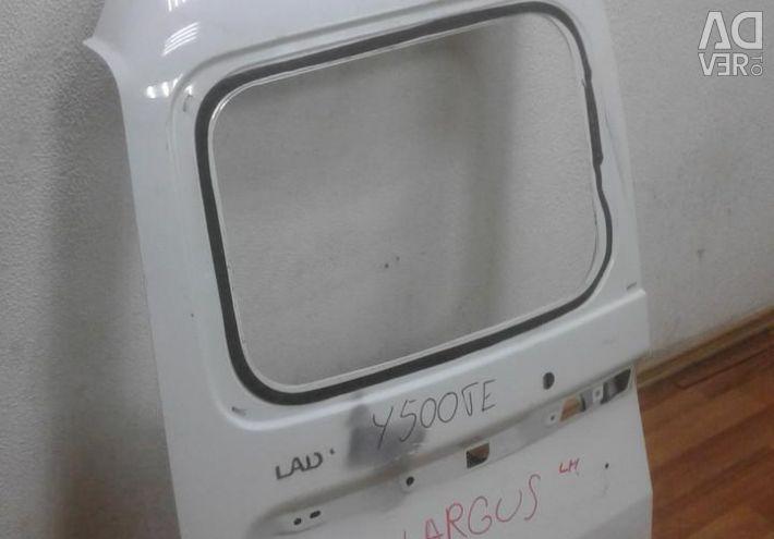 Tailgate left Lada Largus oem 901015964R (dent) (skl-3)