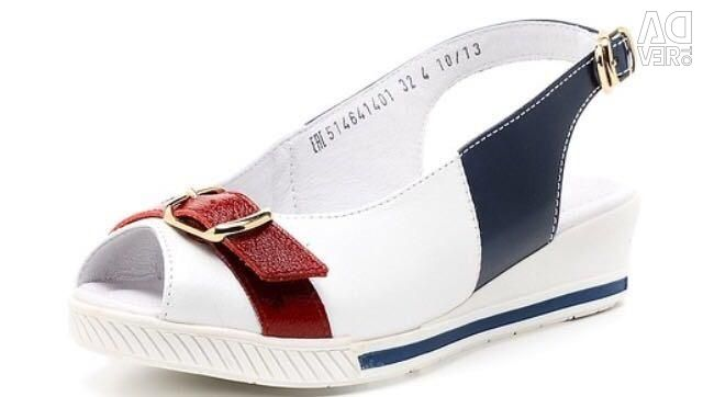 New leather sandals ?