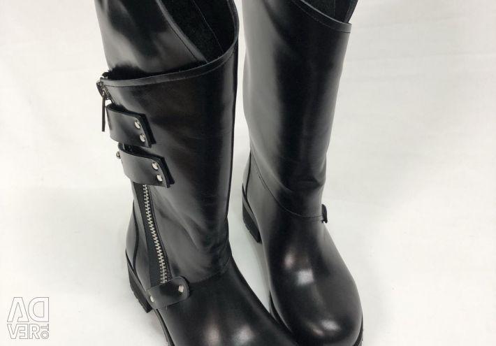 High Leather Erozima Boots