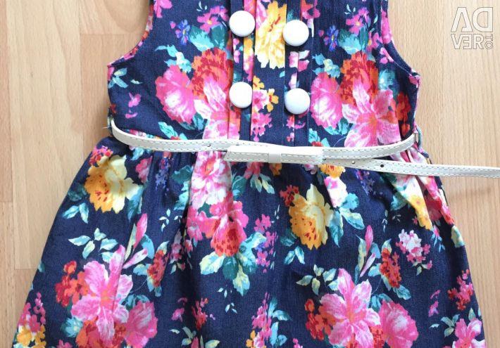 Φόρεμα του denim Zara νέο