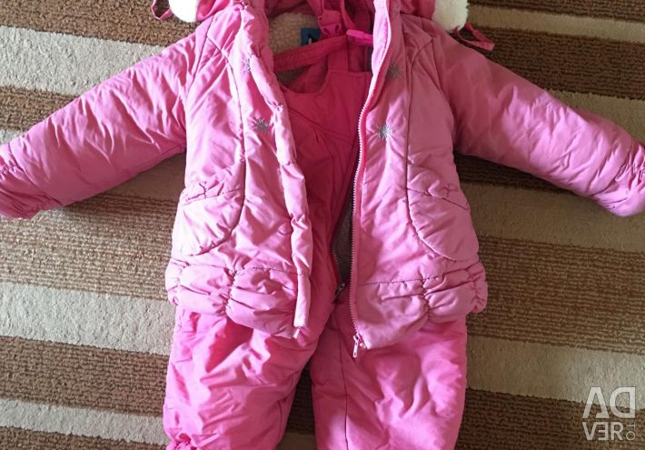 Winter jacket and overalls