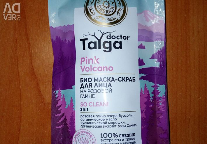 Bio face scrub mask So Clean 3in1 Doctor Taiga