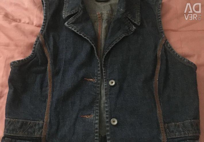 Denim jacket. Feminine. Brand MEXX.