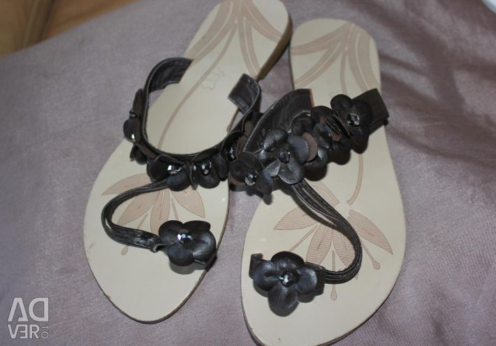 Sandals genuine leather England