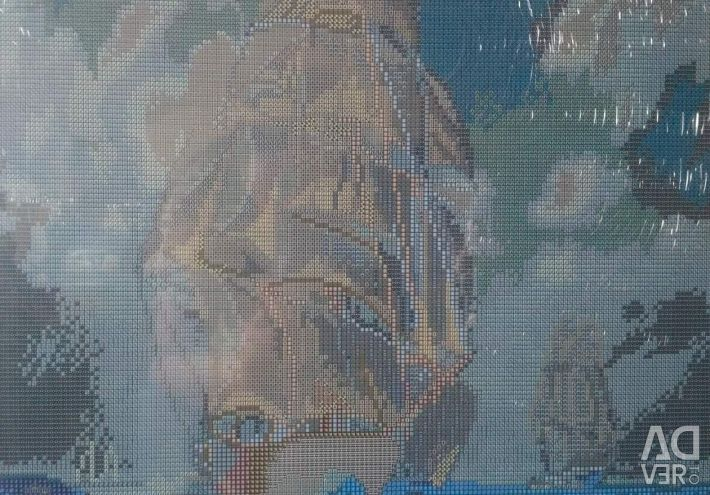 Set of paintings rhinestones