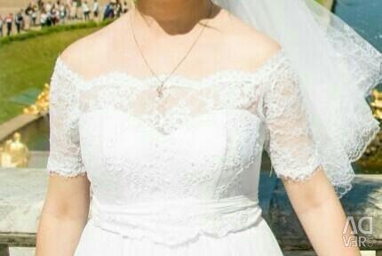 Beautiful wedding dress, handmade + gifts