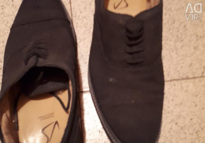 Suede shoes 39 size