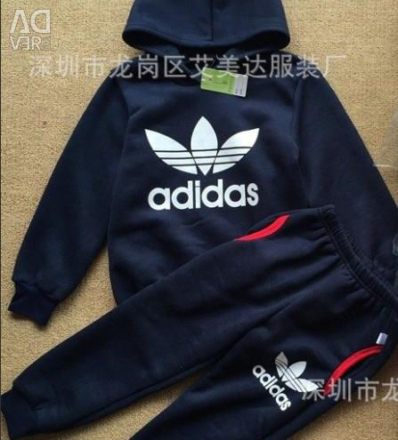 Warm Sports Suit Adidas p. 110-130 are new!