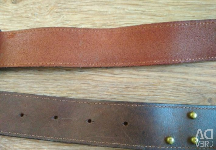 Belt for jeans (leather)