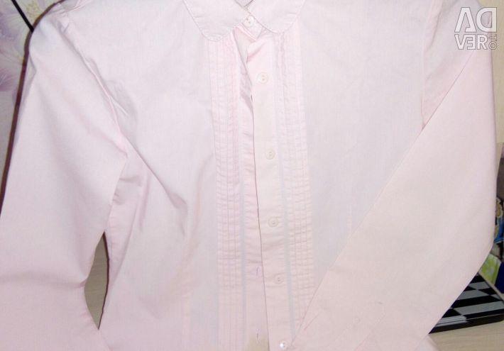Okulda bluz gömlek