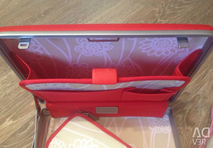 New case with handbag with keys