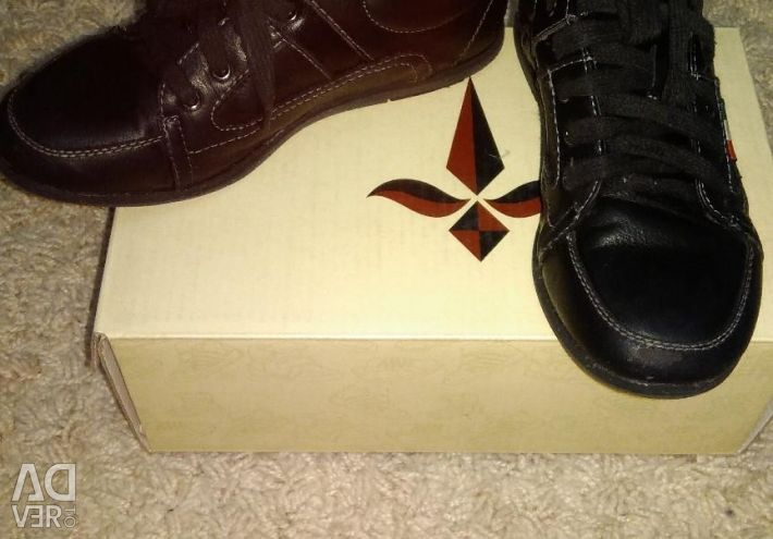 Pantofi tat. piele