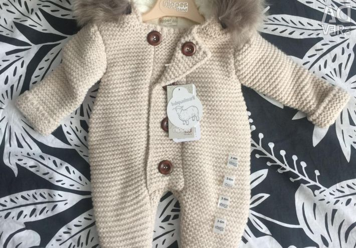 Overalls new wool from 0 to 24mes