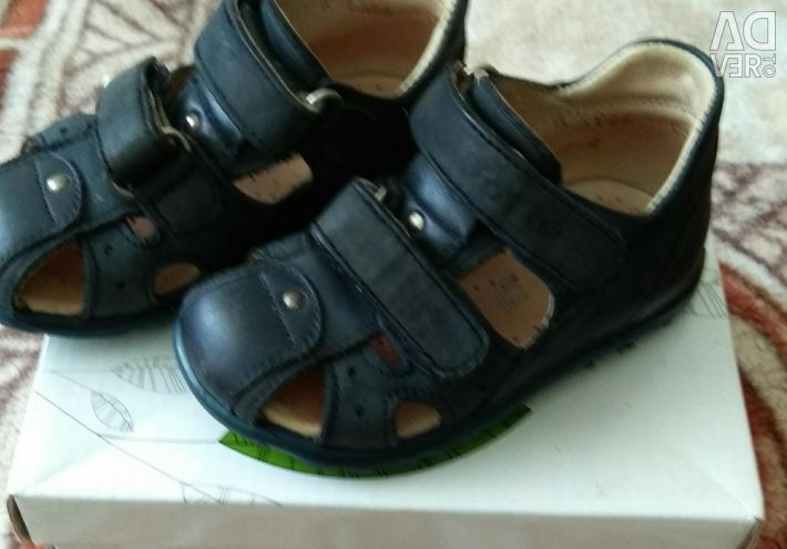 Sandals leather TOTTO