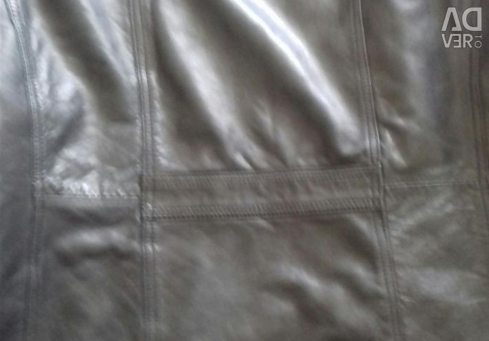 Leather jacket (husk) 50-52r for the spring ...
