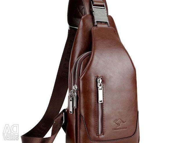 Мужская сумка - рюкзак мессенджер, новая