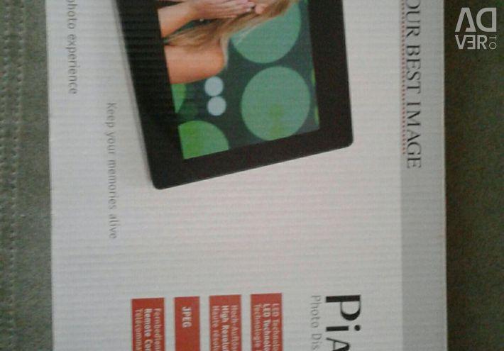 Digital photo frame.