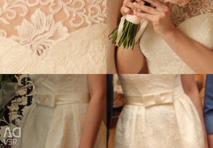 Dress french lace