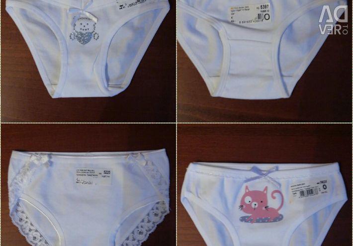 Panties assorted.new Baikar dim. 0 (for 1 year + -)