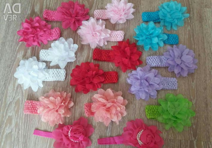 Hand band for girls