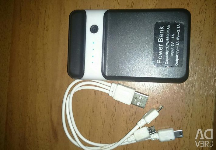 Earphone and Port Charger 6600mAh