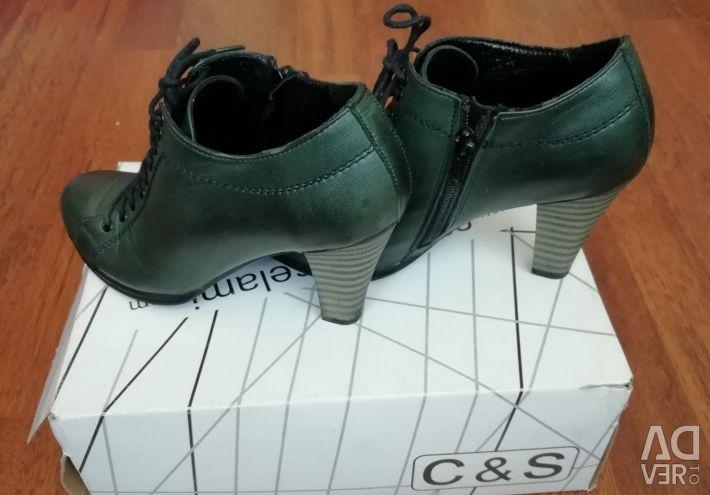 Deri ayakkabı bot satıyorum